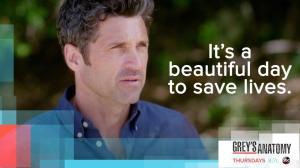 beautiful day ABC Greys Anatomy