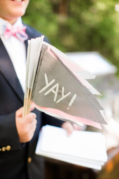 Wedding Flag IDeas